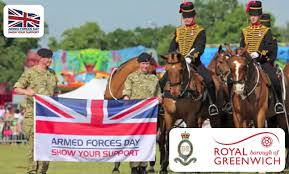 Greenwich Armed forces day pic